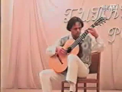 俄罗斯名家吉他独奏《山楂树》【文思达昆明小提琴