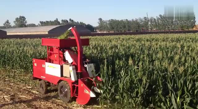 玉米秸秆收割机
