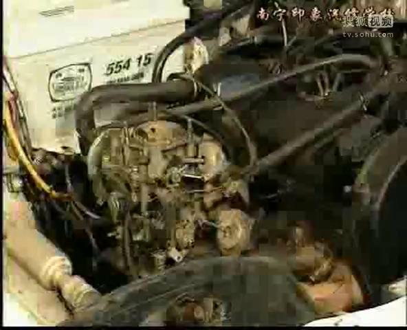 桑塔纳轿车故障诊断与检修之2发动机无怠速视频