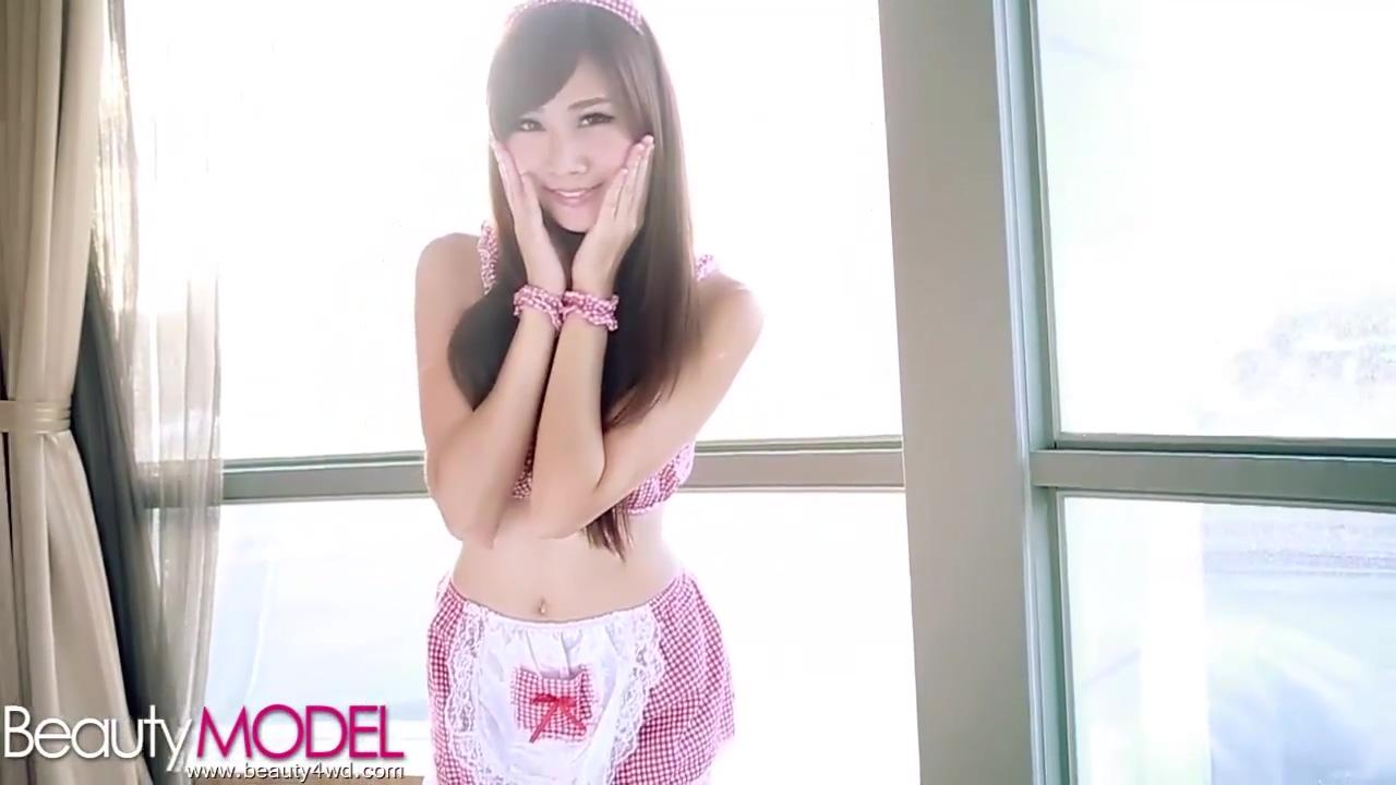 BeautyModel Chu 小筑 粉红女佣女仆制服诱惑在线免费观看