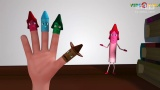 海豹kid 英文儿歌 指偶家族 3d版 finger family 3d for babies 海豹图片