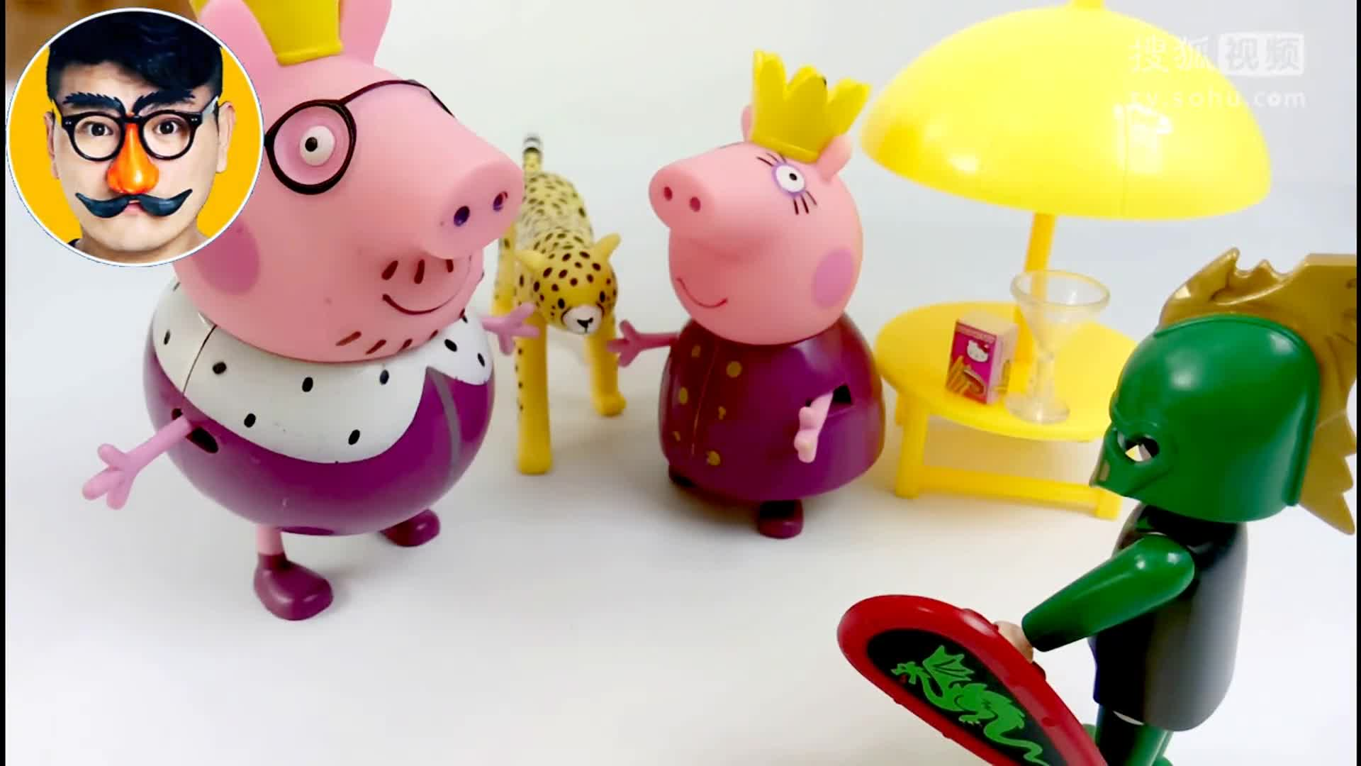 粉红猪小妹小猪佩奇 乐高积木