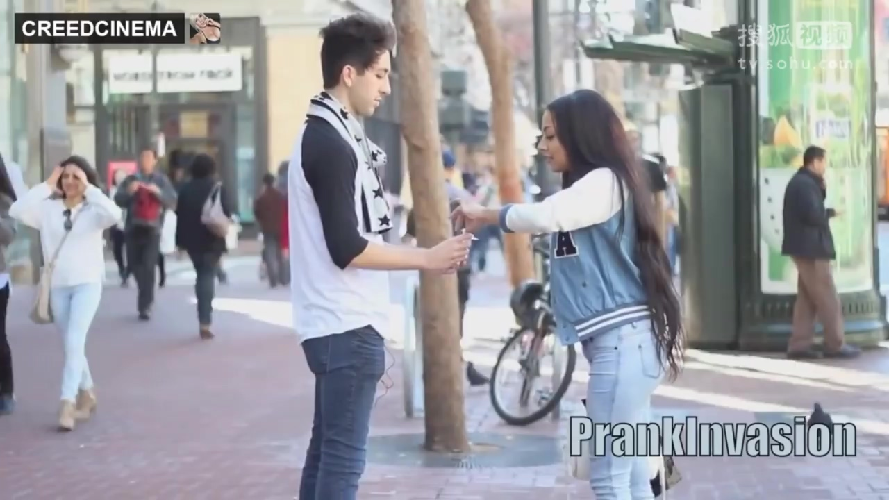 Kissing Prank (GONE FRISKY)